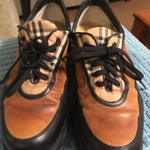 Burberry Leather Sneakers Size 6